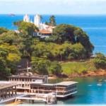 Litoral da Baia de Todos os Santos - Salvador Bahia (Foto: divulgação)