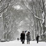 A neve em Nova York cobre parques e deixa um clima ainda mais romântico. (Foto: divulgação)