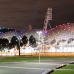 No centro da cidade de Melbourne esta localizado o Parque Olímpico - Austrália (Foto: divulgação)