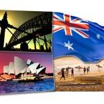 A Austrália está localizada na Oceania, é um lugar de paisagens magníficas. (Foto: divulgação)