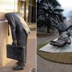 Esculturas malucas em Cingapura Melbourne – Austrália (Foto: divulgação)