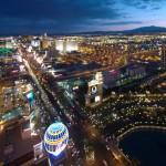 Vista aérea da cidade de Las Vegas (Foto: divulgação)