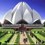 Casa de adoração em Nova Deli na Índia. (Foto: divulgação)