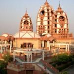 Radha-Partha-sarathi Mandir, Delhi, no sul da Índia (Foto: divulgação)