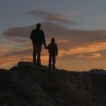 Momentos de reflexão entre pai e filho (Foto: divulgação)