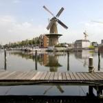 Os moinhos dão um charme a  Holanda (Foto: divulgação)