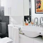 Valorize as combinações com as louças e metais sanitários.