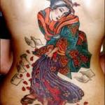 Tatuagem de gueixa representa sedução (Foto: divulgação)