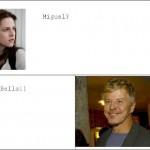 Brincadeira com o nome das celebridades (Foto: divulgação)