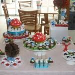 """Decoração com """"cogumelos"""" (Foto: divulgação)"""