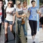 Os modelos com mensagens são as preferidas pelas famosas. (Foto:Divulgação)