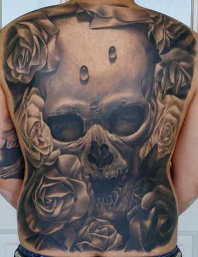 Tatuagem de caveira: fotos