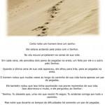 Pegadas na areia (Foto: divulgação)