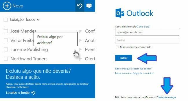 Como criar outra conta de Hotmail