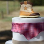 O bolo temático.  (Foto: Divulgação)