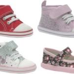 Os sapatos para bebês devem ser confortáveis e maleaveis aos pés.