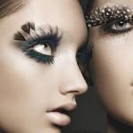 Cílios postiços exóticos - Charme e glamour (Foto: divulgação)