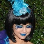 Cílios postiços exóticos azuis (Foto: divulgação)