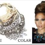 As famosas são adeptas da moda de maxi colares.