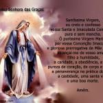 Nossa Senhora das Graças (Foto: divulgação)