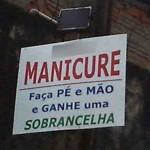 Manicure promoção (Foto: divulgação)