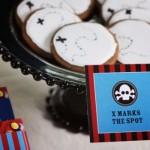 Biscoitos inspirados no mapa do tesouro. (Foto:Divulgação)