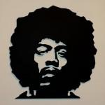 Que tal Jimmy Hendrix decorando a sua parede? (Foto:Divulgação)