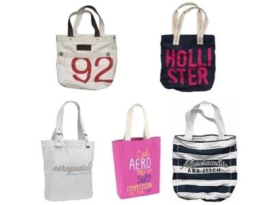 As bolsas Hollister são lindas e combinam com vários estilos,