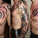 Tatuagem tribal grande (Foto: divulgação)