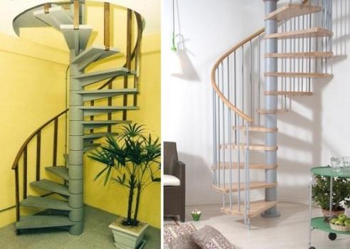 Escada caracol: modelos e fotos
