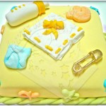 Fotos de bolos para chá de bebê