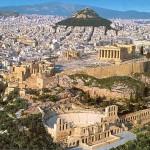 Vista da Acrópolis (Foto: divulgação)