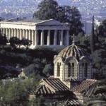 Templo de Teseu na Ágora antiga, Atenas (Foto: divulgação)