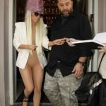 Lady Gaga, veste blaser (Foto: divulgação)