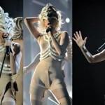 Lady Gaga, figurino futurista (Foto: divulgação)