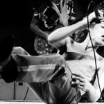 Mick Jagger durante show em Knebworth Festival, no ano de 1977 (Foto: divulgação)