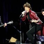 Os Rolling Stones durante show de 2007, na Dinamarca (Foto: divulgação)