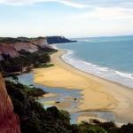 Vista do mar e das Falesias da praia de Trancoso