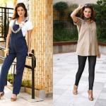 As roupas devem valorizar a silhueta feminina. (Foto:Divulgação)