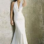 Vestido de noiva simples frente única (Foto: divulgação)