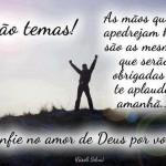 Confie no amor de Deus por você (Foto: divulgação)