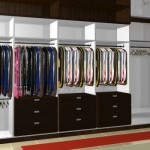 Projeto de guarda-roupa planejado.  (Foto:Divulgação)