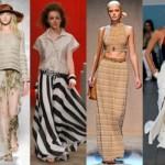 Para escolher a saia ideal, a mulher deve levar em conta o seu biotipo. (Foto:Divulgação)
