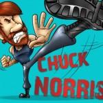 Chuck Norris invencível (Foto: divulgação)
