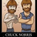 Chuck Norris é mais forte (Foto: divulgação)