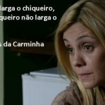 As frases de Carminha estão se tornando populares. (Foto:Divulgação)