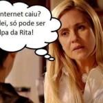 Internet caiu? Culpa da Rita!