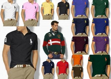 A camisa Polo foi criada pelo jogador de tênis René Lacoste em 1927 e se tornou sucesso absoluto a partir dai.