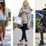 Os sneakers são peças fashionistas. (Foto:Divulgação)