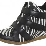 Sneaker com estampa de zebra. (Foto:Divulgação)